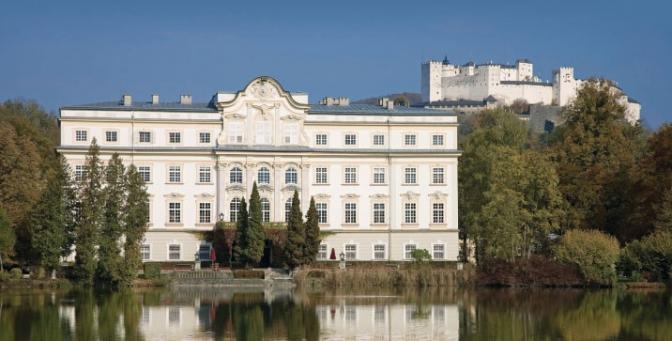 Hotel Schloss Leopoldskron Aussenansicht